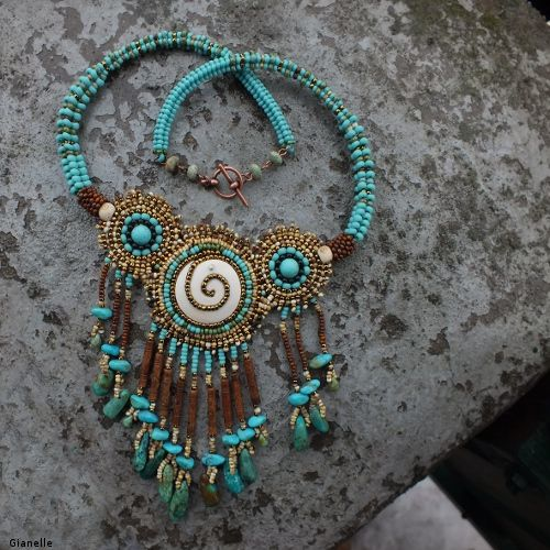 """""""Changing Woman"""" necklace by gianelle"""