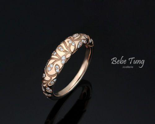The-Vines-Words-18K-750-Rose-Gold-Diamond-Design-Ring