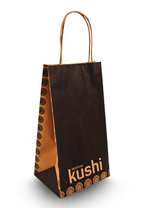 Kushi - Indian packaging design for Waitrose bag
