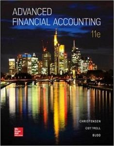 Advanced financial accounting 11th edition christensen cottrell budd advanced financial accounting 11th edition christensen cottrell budd solutions manual free download sample pdf solutions manual answer keys test bank fandeluxe Choice Image