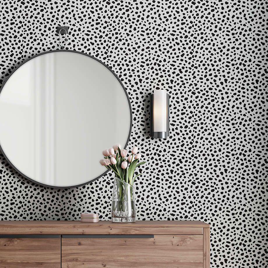 Tempaper Pepper Scout Removable Wallpaper Crate And Barrel Removable Wallpaper Girls Room Wallpaper Accent Wallpaper