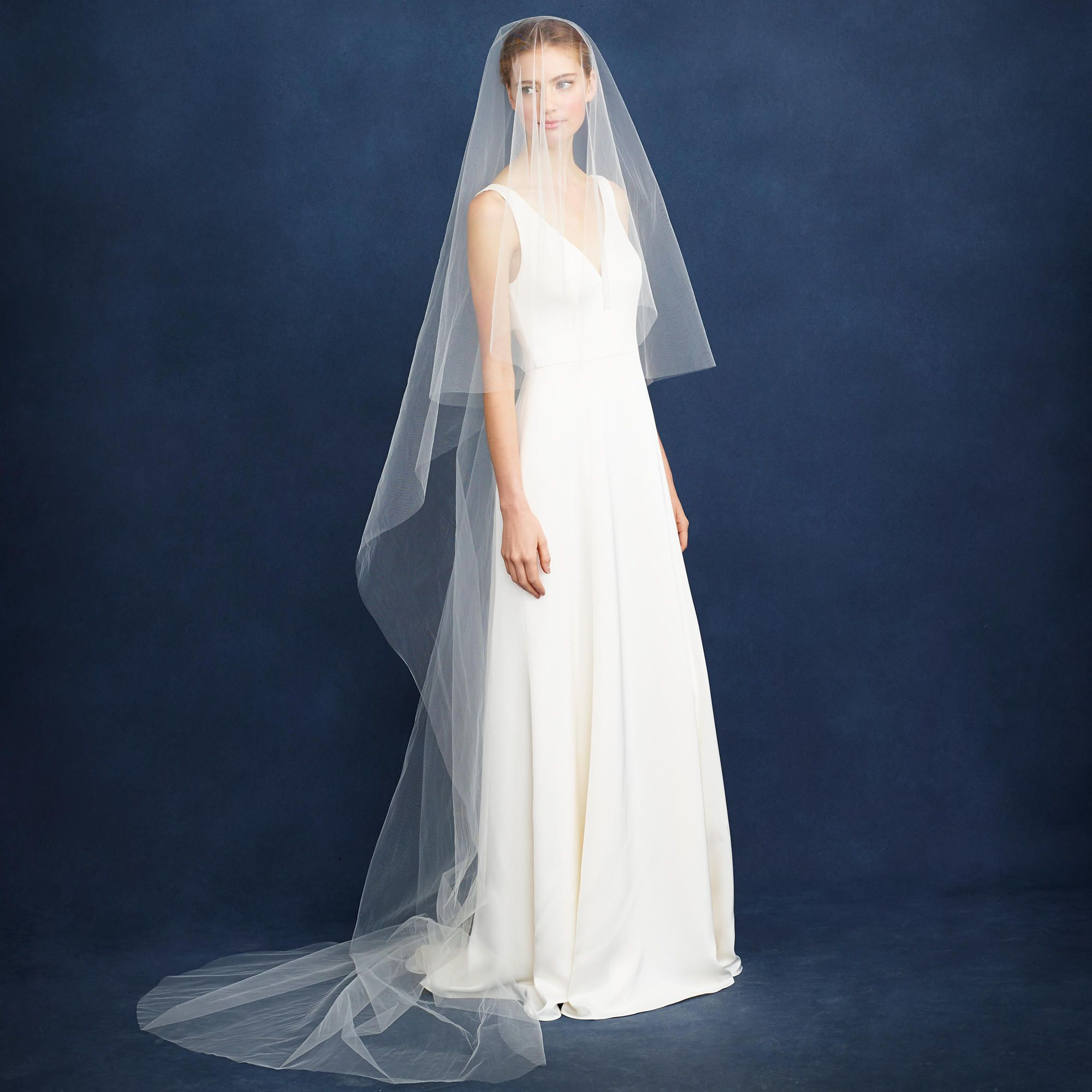 Twigs & Honey® cathedral veil : veils & headpieces | J.Crew | Pate ...