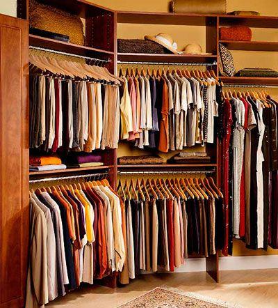 Walk In Closets   Interior Door U0026 Closet Company Same Hangers All The Way  Around