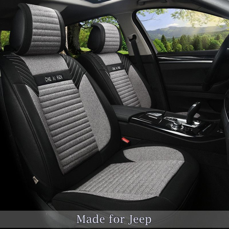 Cheap Seat Covers For Jeep Buy Quality Seat Cover Directly From China Breathable Seat Covers Suppliers Linen F Leather Seat Covers Seat Protector Seat Covers