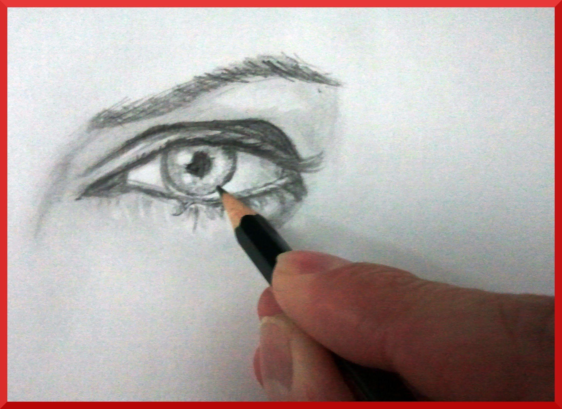 Tecnicas Para Dibujar: Como Dibujar Ojos (Mejor) How To Draw Eyes (Better