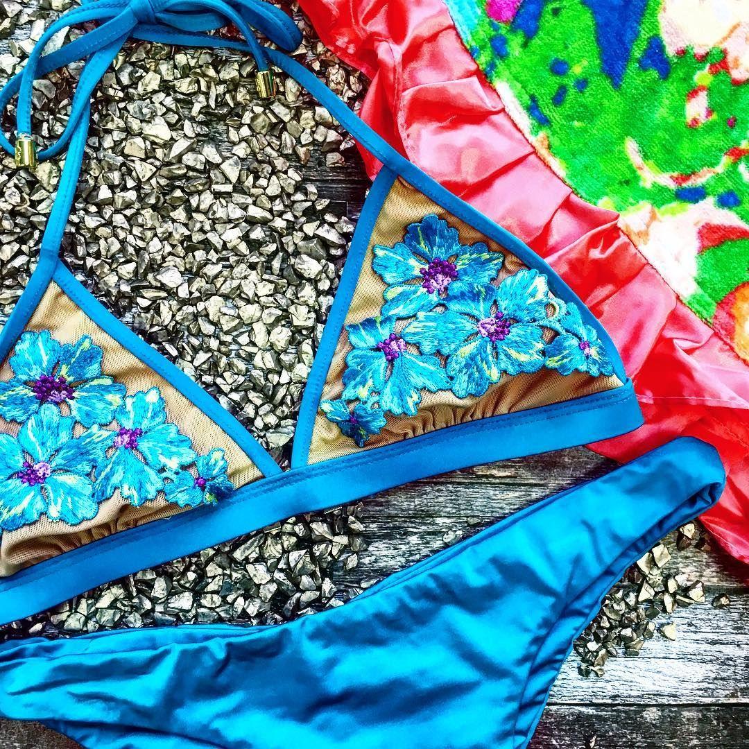 14f36ebf42b7b Beach Bunny Swimwear  Tigerlily Bikini in turquoise