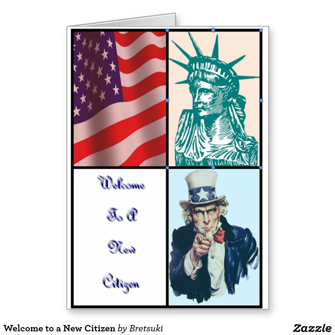 welcome to a new citizen greeting card this card celebrates the