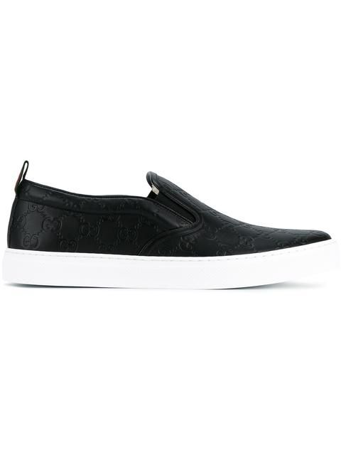 a617ba7b450c8 GUCCI signature slip-on sneakers.  gucci  shoes  sneakers