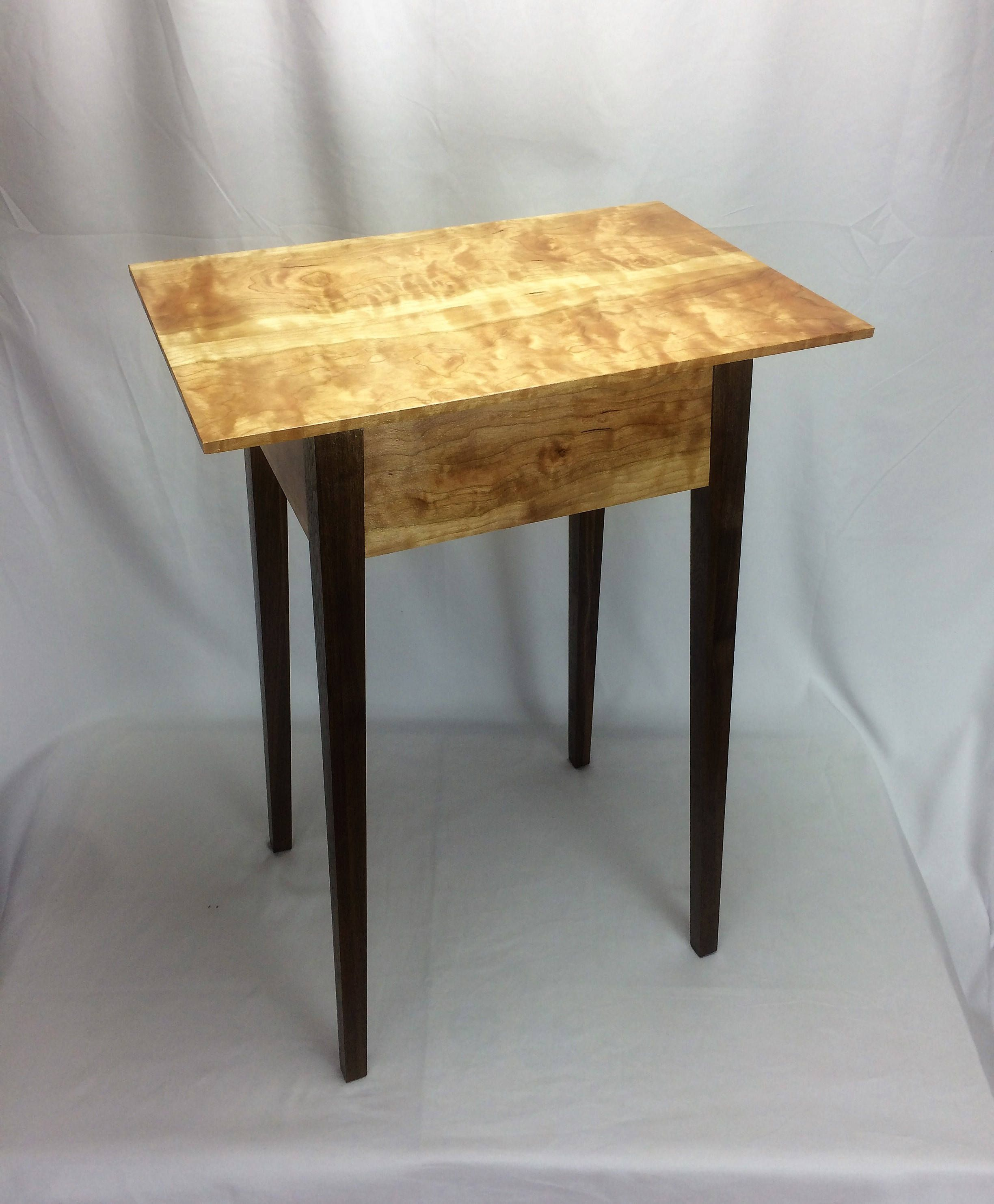 Curly cherry and black walnut lamp table geotapseo Image collections