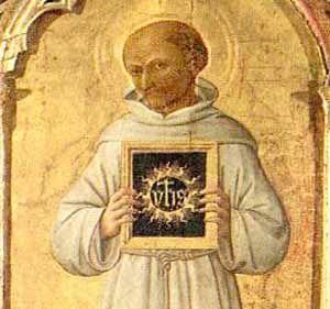 Inigo Hicks: St. Bernardine of Siena, St. Paul, and the Holy Name of Jesus;YHS