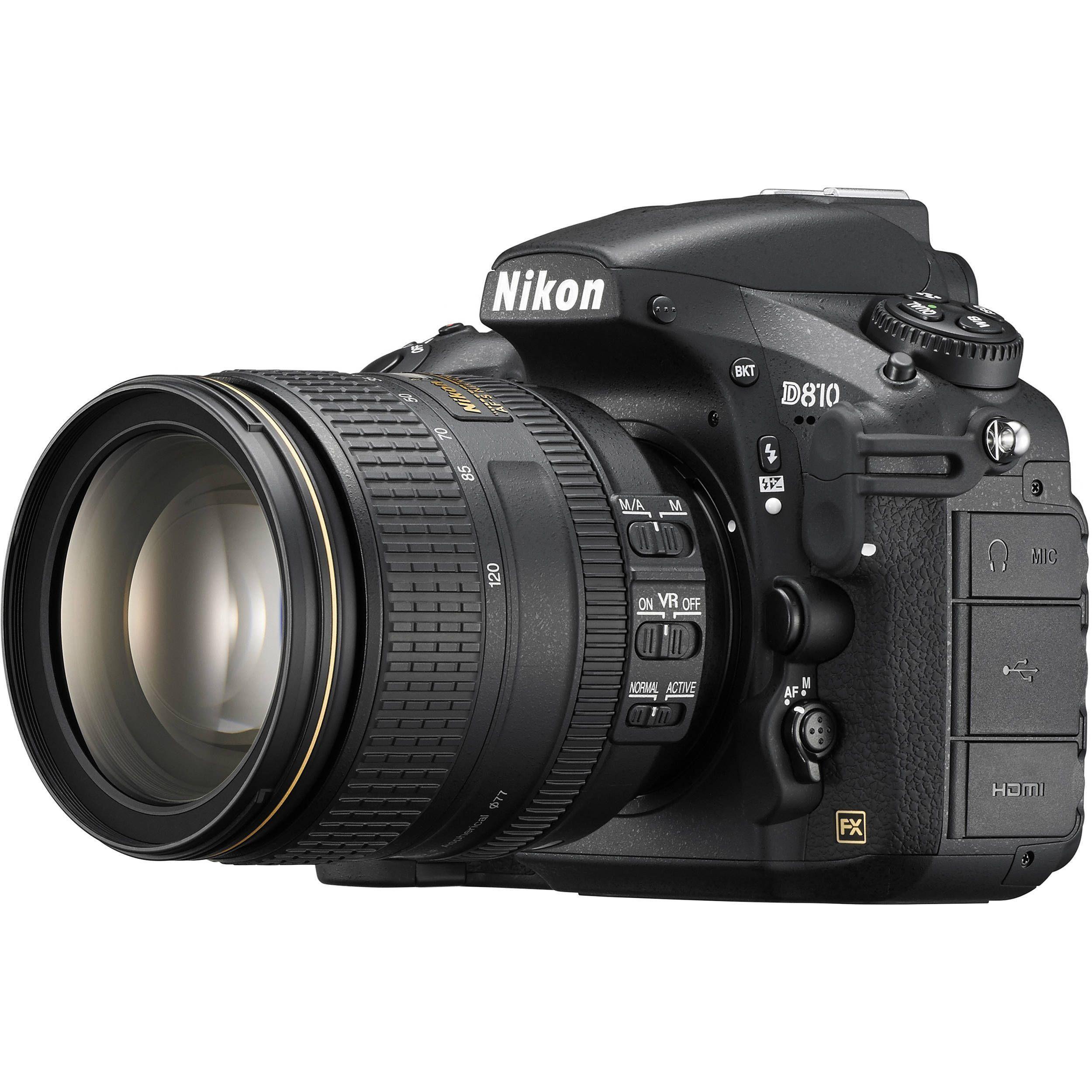 Nikon D810 Dslr Camera With 24 120mm Lens Nikondigitalcameras Canon Camera Models Nikon Dslr Camera