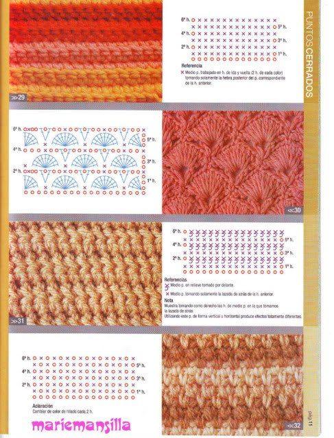 crochet pattern | Crochet tecniques.➰ | Pinterest | Häkeln, Häkeln ...