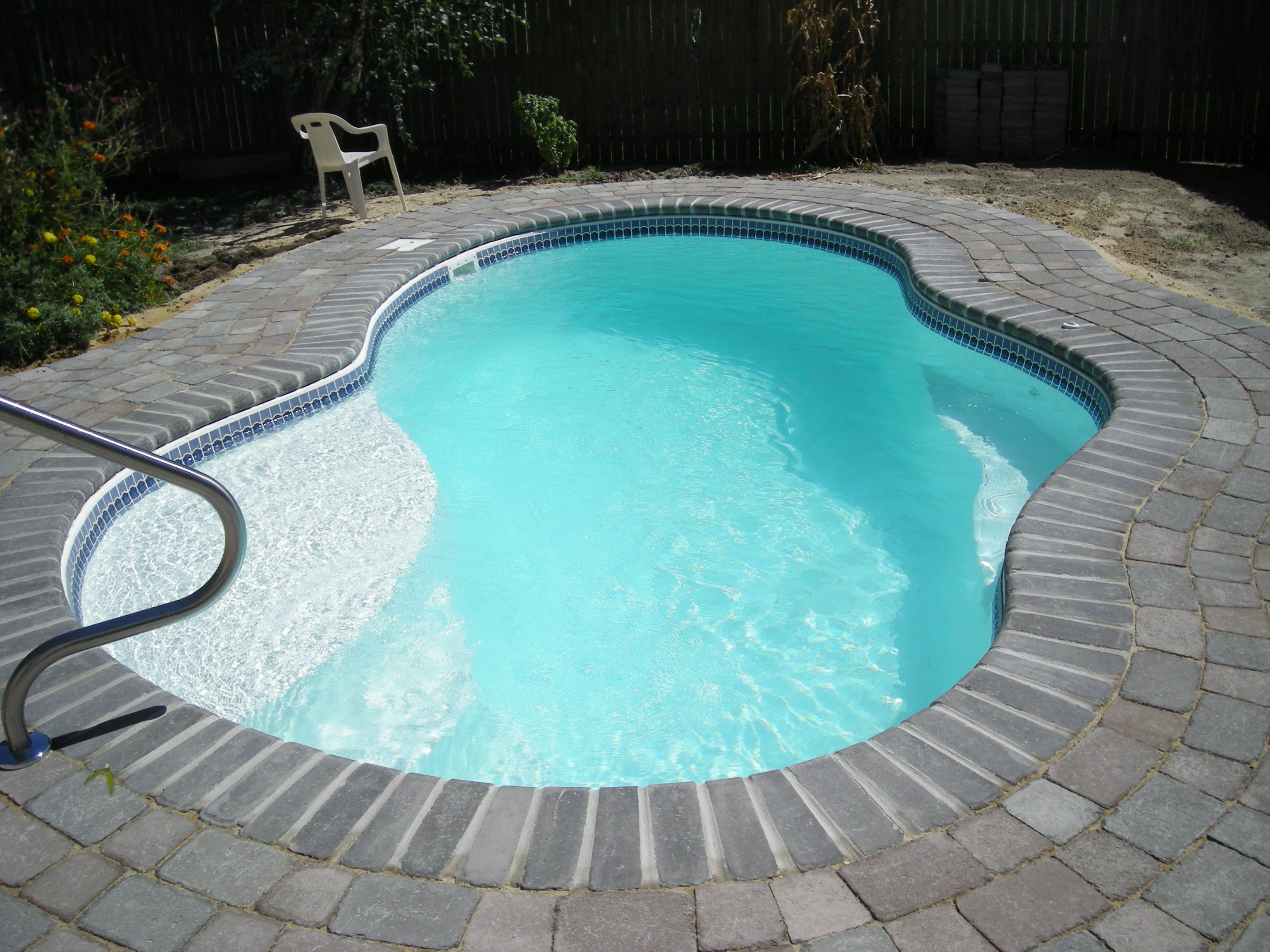 Small Swimming Pool Designs Small Fiberglass Pools Small