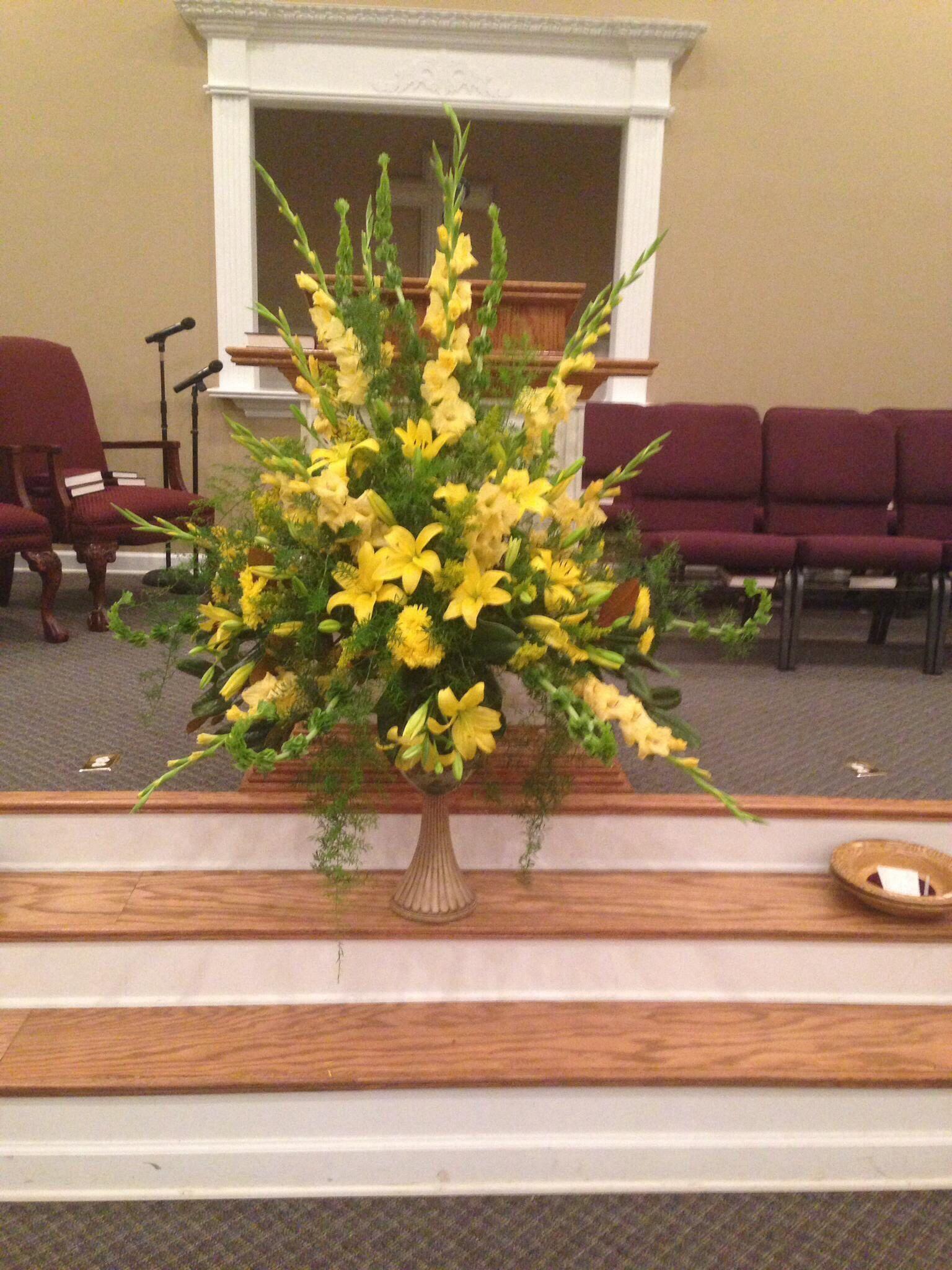 Blomster placeret til ære for mine forældre i The Sanctuary Of-2280