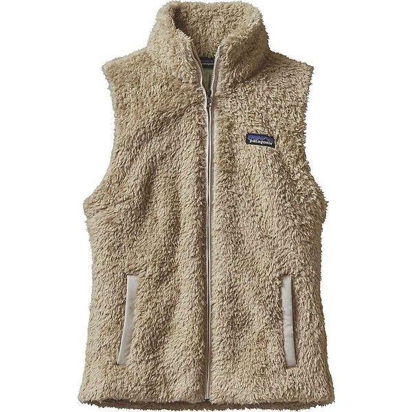 Patagonia Women's Los Gatos Vest ($99) ❤ liked on Polyvore featuring outerwear, vests, el cap khaki, brown vest, brown waistcoat, polar fleece vest, microfleece vest and vest waistcoat