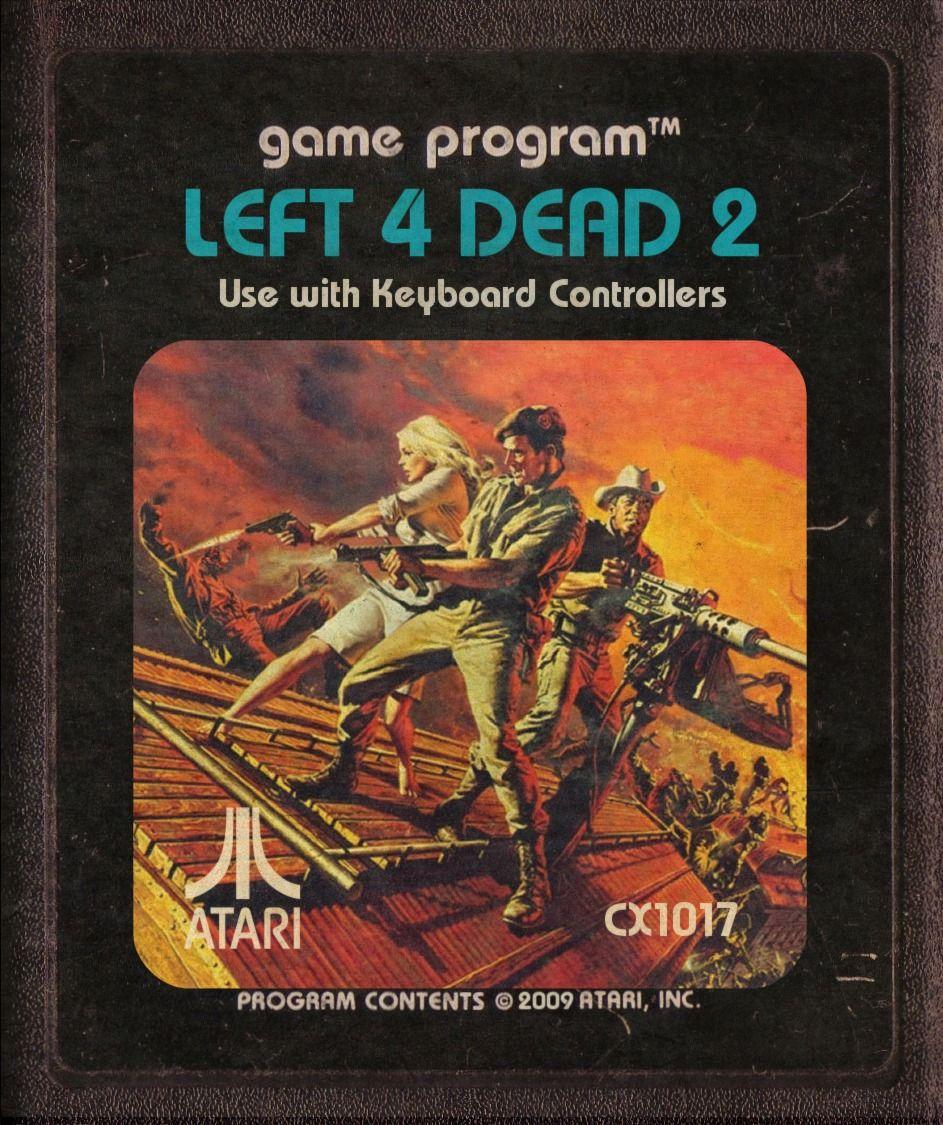 laughingsquid: Modern-Day Video Games Reimagined as Retro Atari Cartridges
