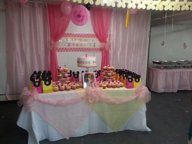 Backdrop and table ideas to decorate your cake table. From a party I did