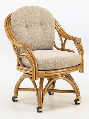 Rattan Specialties Caster Chair Available At Www
