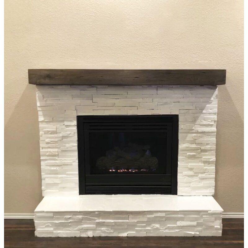 Alistair fireplace mantel shelf in 2020 brick fireplace