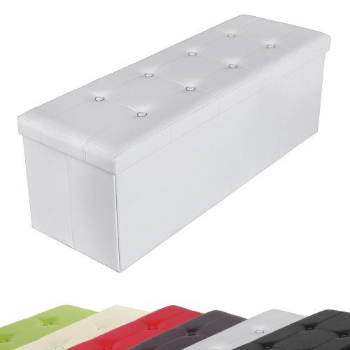 tabouret cube pouf de pliable coffre