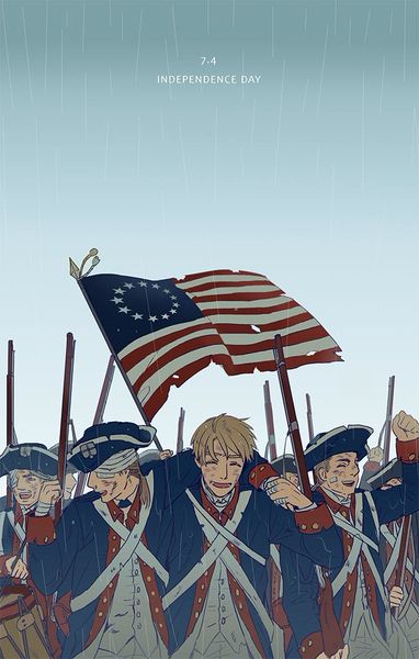 INDEPENDENCE DAY/まりめ