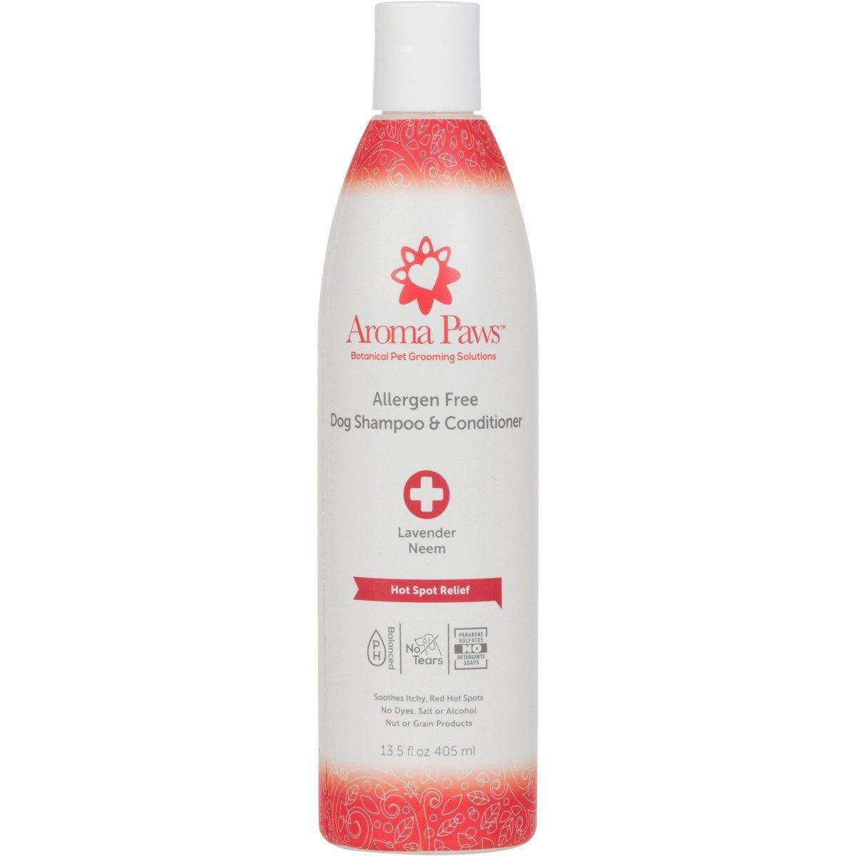 Allergen Free Hot Spot Relief Dog Shampoo and Conditioner