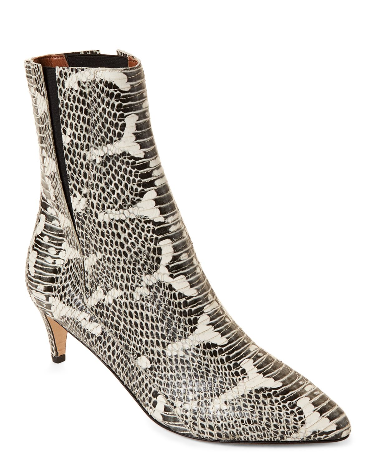 3f6545c35b8 Atp Atelier Nila Snakeskin-Embossed Leather Ankle Boots | *Apparel ...