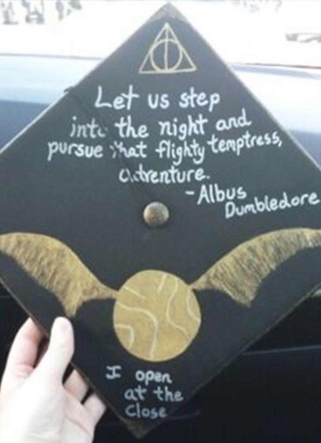 Harry Potter Graduation Cap