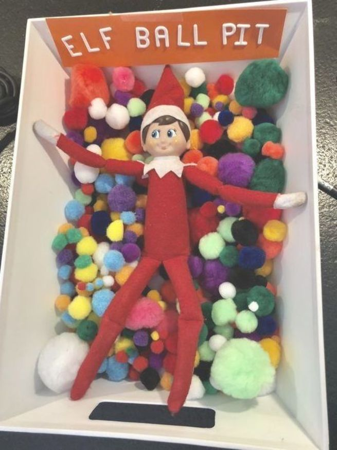 Elf on the Shelf Ideas Funny Hilarious #elfontheshelfideasfunnyhilarious