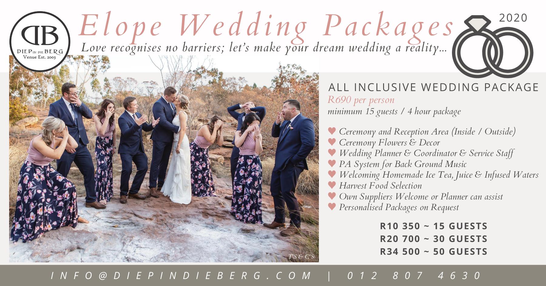Elopement Weddings Elope Wedding Wedding Package All Inclusive Wedding Packages