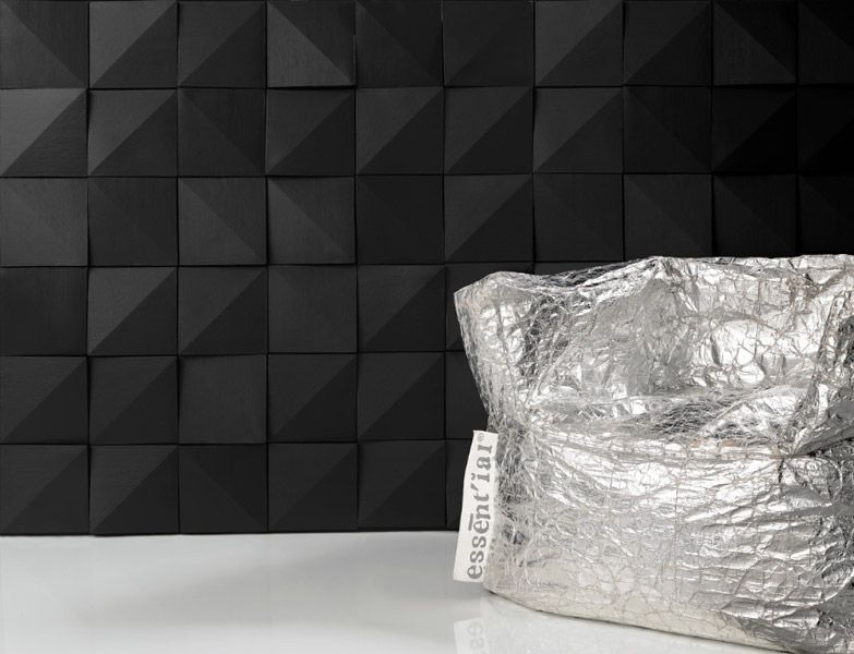 Contemporary Mood Series - Concrete. Offset in black by Originepietra.