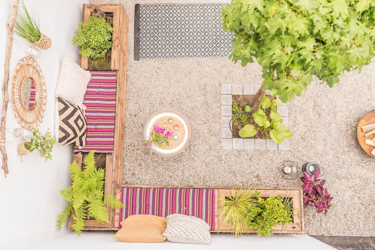 Diy Terrassen Makeover Vorher Nachher Teil 2 Leelah Loves Garten Terrasse Diy Terrasse Terrasse Holz
