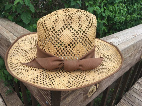 1c43fed1295 Ladies Western Straw Hat