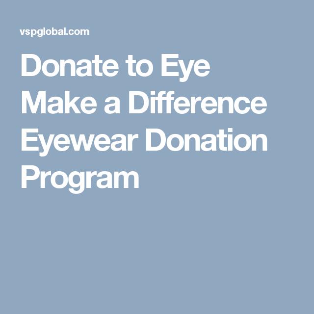 855c70ff44 Donate to Eye Make a Difference Eyewear Donation Program Eye Make