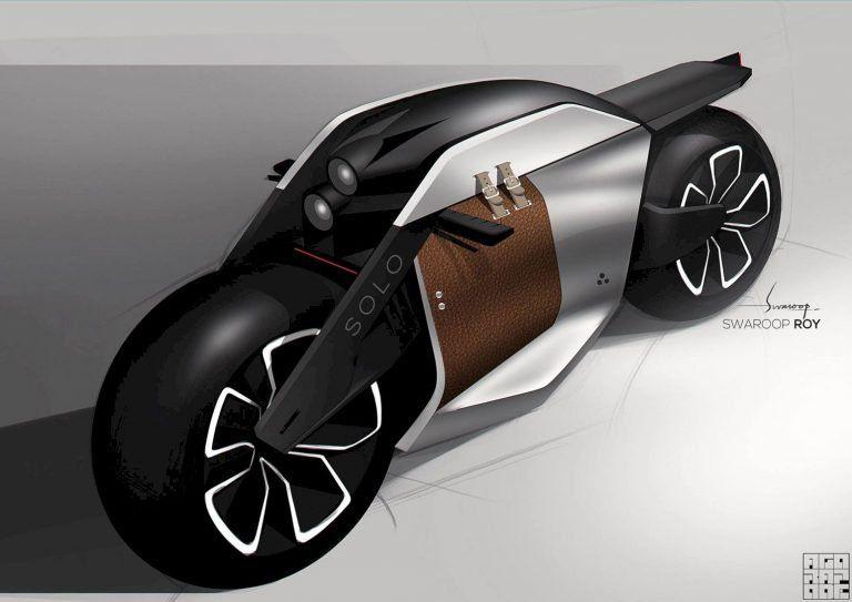 Bmw Motorrad Concept 9cento Nove Cento The Smart Motorcycles