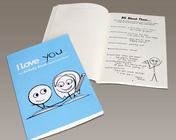 I Love You The Activity Book For Couples This Books Is Filled With Over