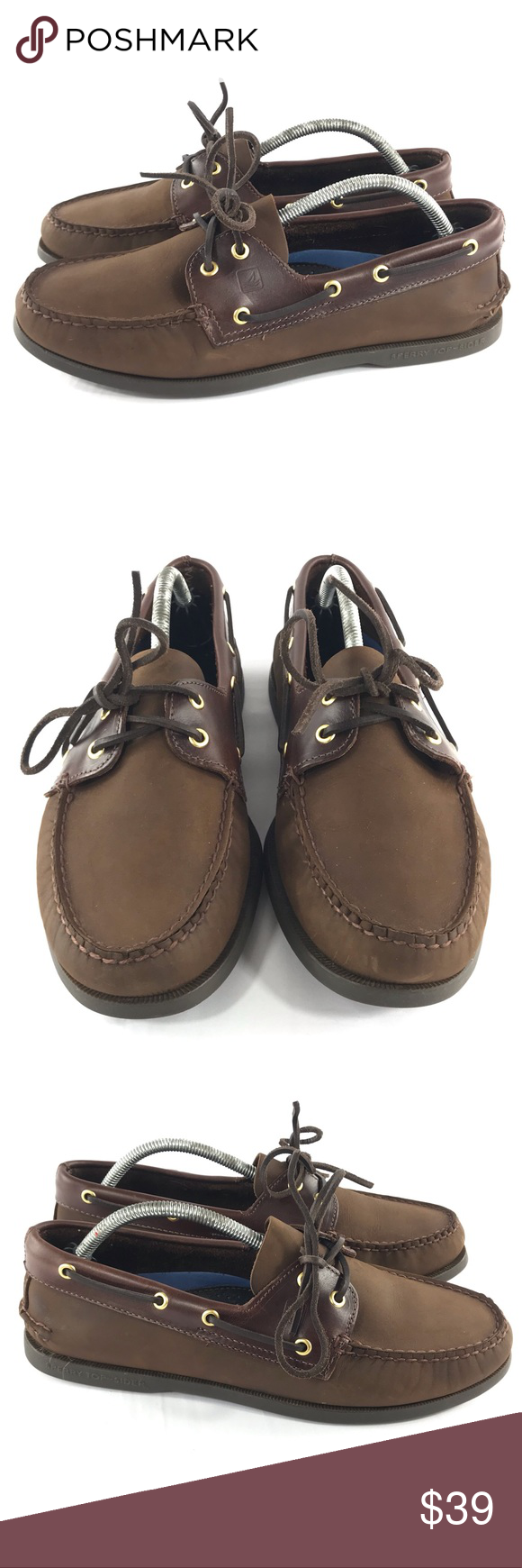 Sperry Top-Sider Boat Shoes Size 11XW