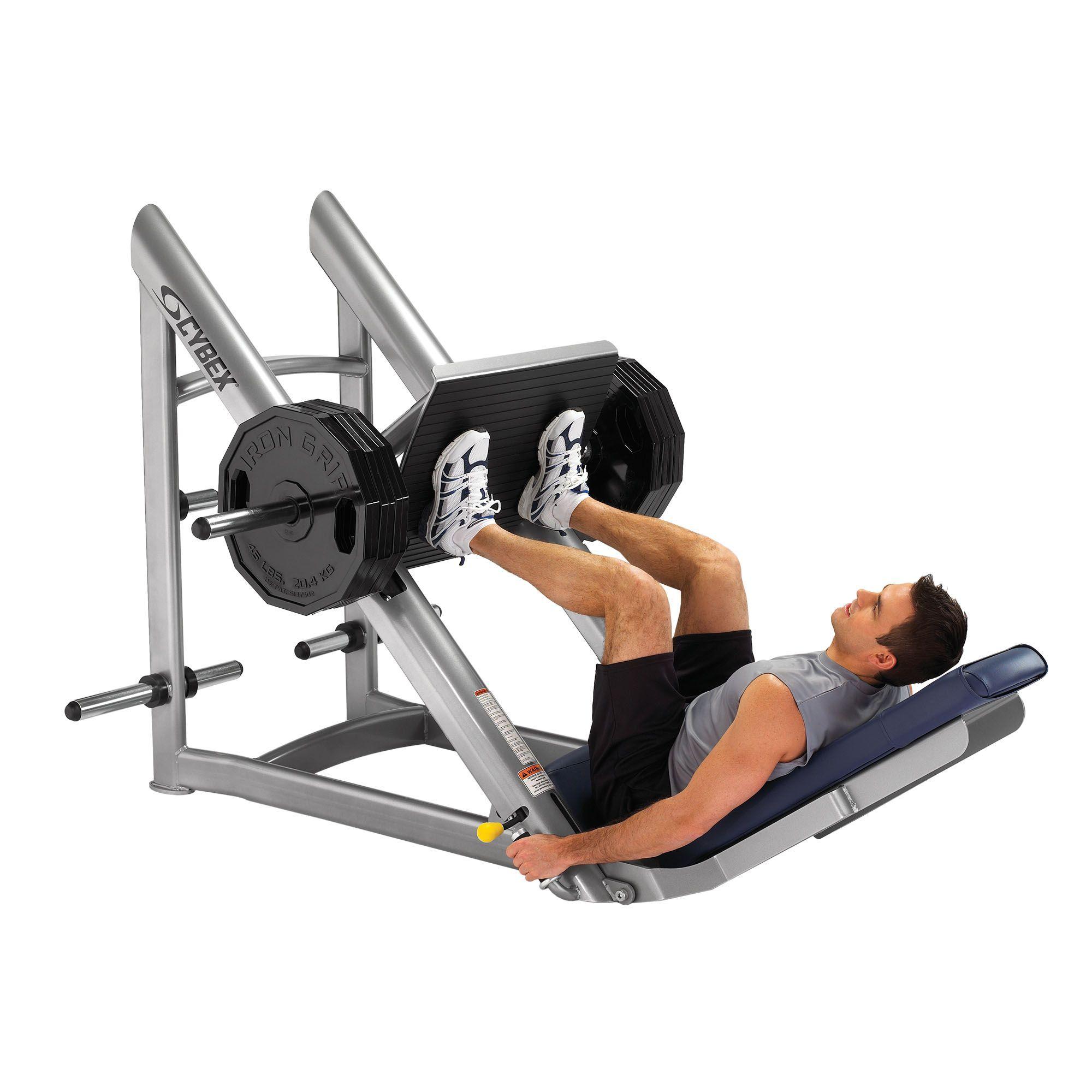Cybex Plate Loaded Leg Press (con imágenes) | Prensa para piernas, Ejercicios para piernas, Entrenamiento fitness