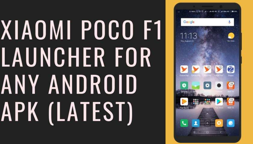 Pin on Download Xiaomi Poco F1 Launcher For Any Android