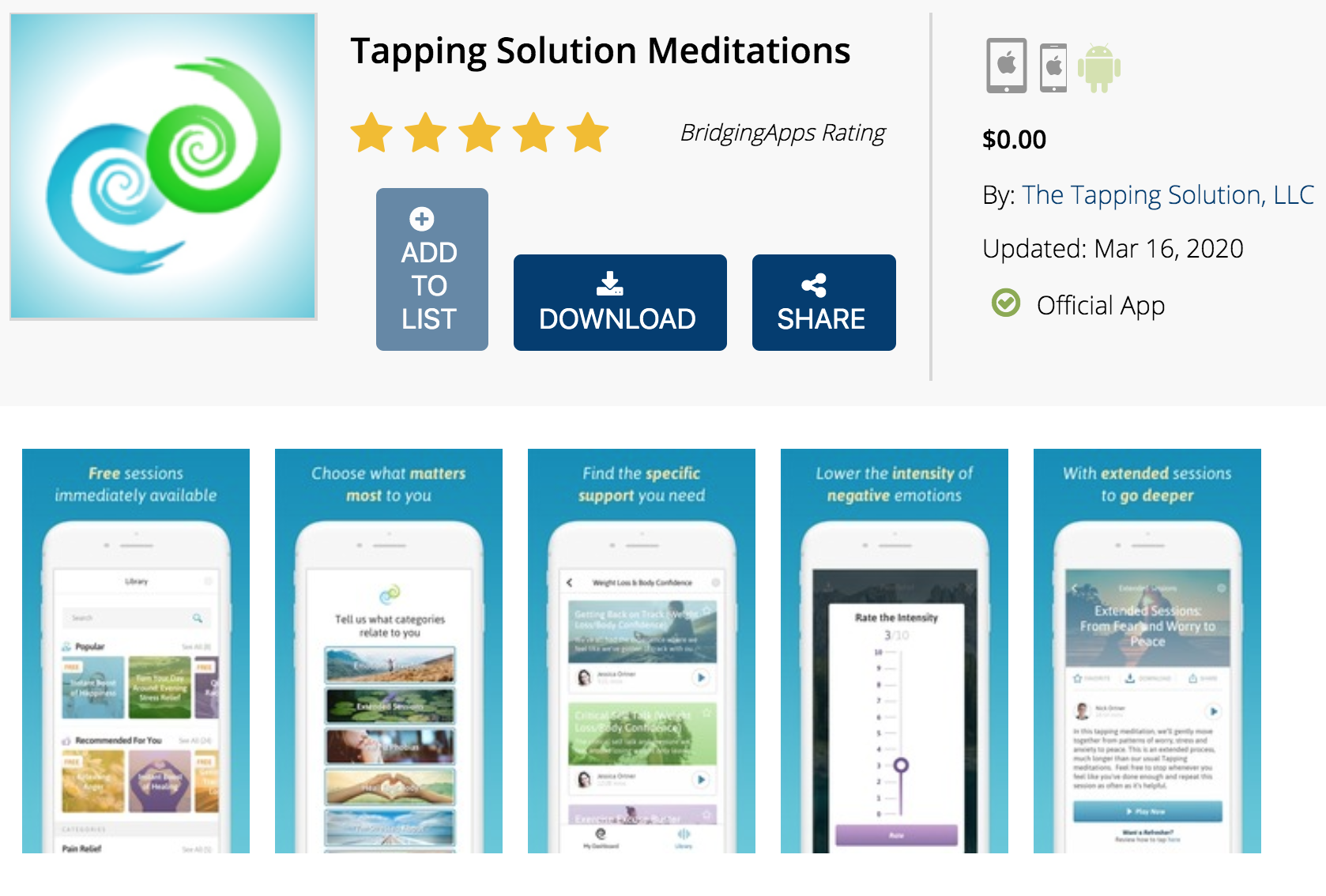 BridgingApps Newly Reviewed App Tapping Solution
