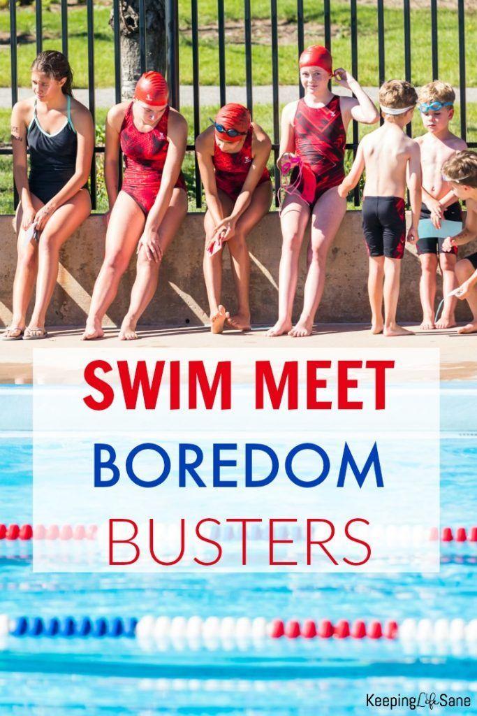 Swim Meet Boredom Busters Swim Meet Boredom Busters Swimming