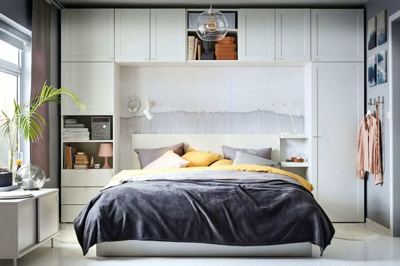 Refreshing Small Bedroom Ideas For Couple In 2020 Storage Ikea Dubai Khalifa