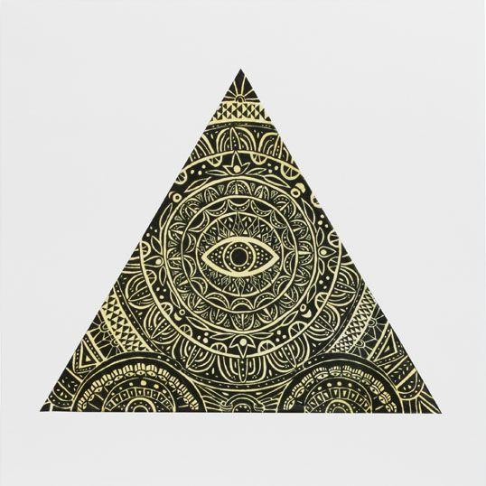 Triangle Eye Poster — Caitlin Keegan