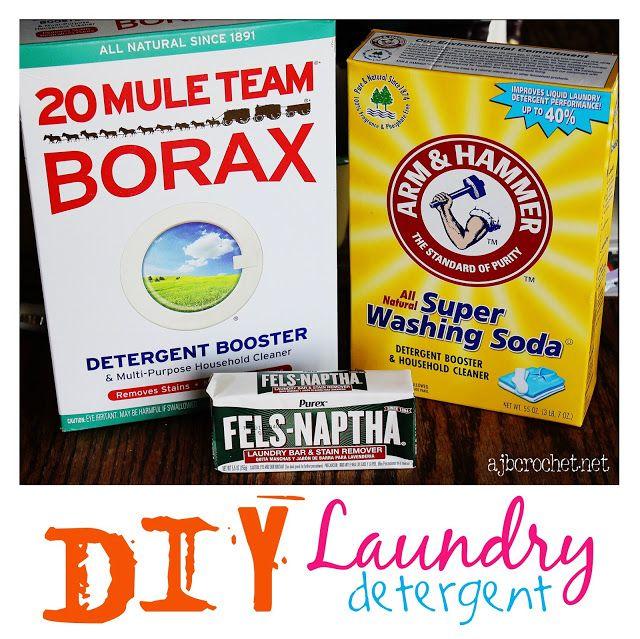 Ajb Crochet Diy Homemade Laundry Powder Detergent Less Than 10