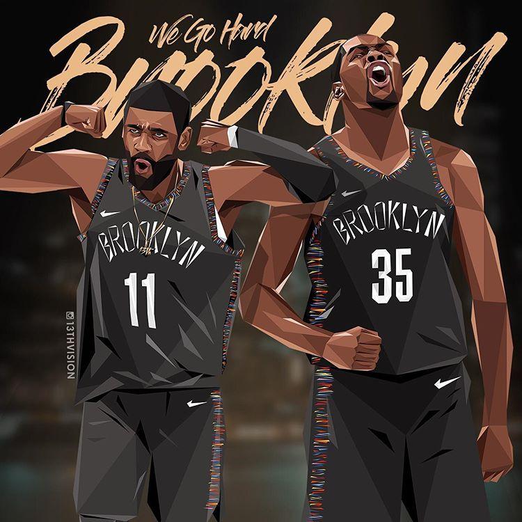 Arthur Kuoさんはinstagramを利用しています Brooklyn We Go Hard Kyrieirving Easymoneysniper Brooklynn Nba Basketball Art Brooklyn Nets Basketball Players Nba