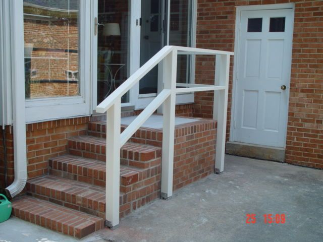 Best Entry Landing Step Google Search Step Railing Outdoor 400 x 300