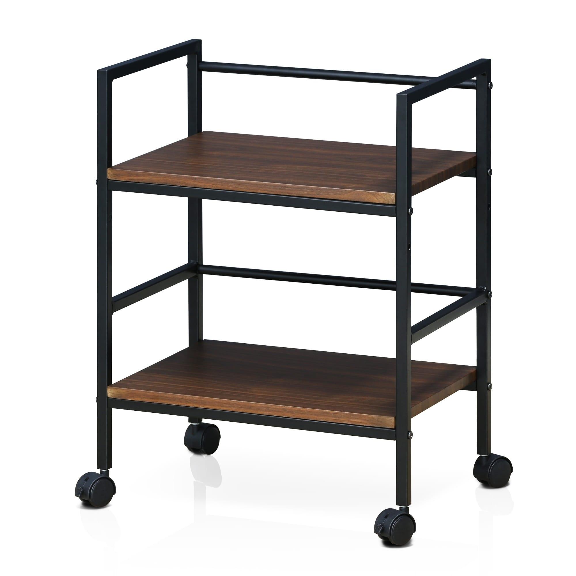 clay alder home gold brook modern storage cart with casters dark rh pinterest com