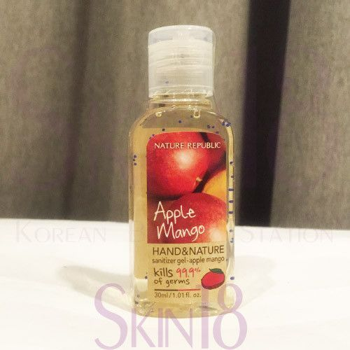 Nature Republic Hand And Nature Hand Sanitizer Apple Mango