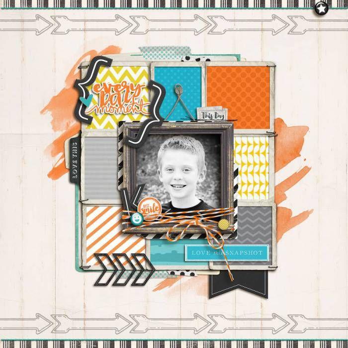 Everyday Moment - Digital Scrapbooking Ideas at Designer Digitals