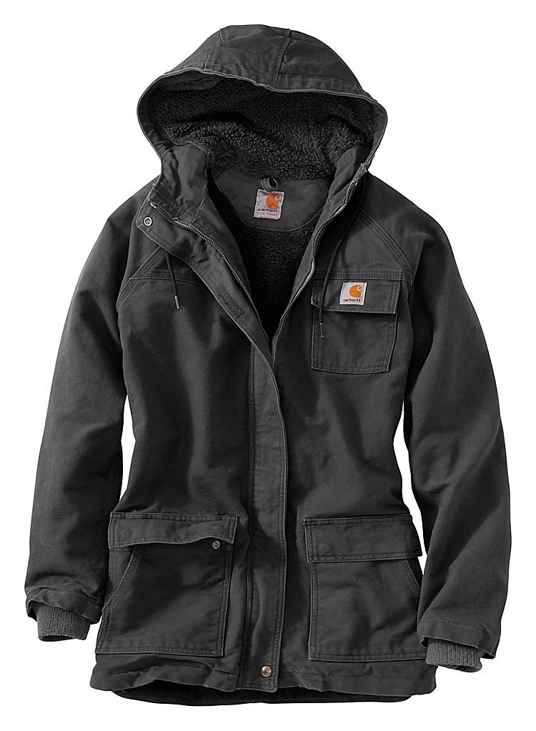 38f927f17fc Carhartt® Kenai Sandstone Parka for Ladies | Bass Pro Shops | Style ...
